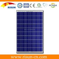 90W poly silicon solar module /100watt solar panel with outlet/130W solar module