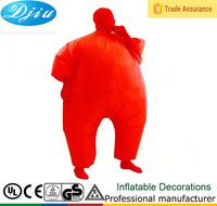 DJ-CO-151 NEW Adult Chub Suit Inflatable Blow Up Color Full Body blimpz Costume Jumpsuit Fat Suit
