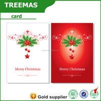 New products promotion paper air freshener of hair treatment wit Christmas card china supplier