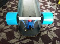 New in-wheel motor for electric skateboard parts hub motor wheels brushless no sense motor factory in china