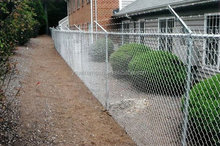 chain link fence panels 6'x10'