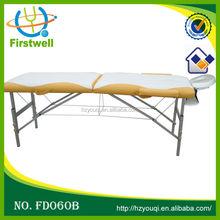 Mix color portable aluminum massage table for sale