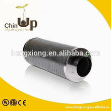 greenhouse horticulture active carbon filter/ hydroponic ventilation actived carbon filter/ inline fan with carbon filter