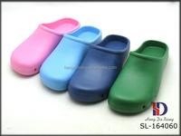 Colorful EVA garden shoes for hospital nurse shoes nursing clogs