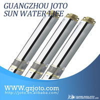 Deep Well DC Electric Submersible Solar Water Pumps for agricultural