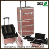 aluminum trolley make up case made in china