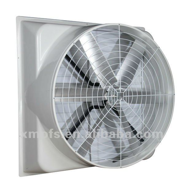 Hot air circulation fan for warehouse building workshop for Air circulation fans home