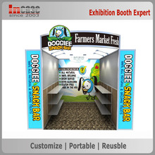Heavy-duty free design portable advertising exhibition booth display