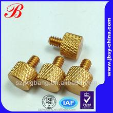 Brass knurled 1.5mm diameter screw manufacturer