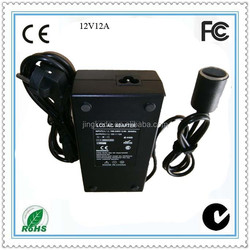 Alibaba wholesale laptop adapter 15V 8A 120W 24v ac power adapter approval CE ROHS FCC