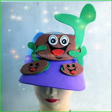 Economic most popular hat face stress balls foam