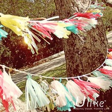event decoration paper garland new business ideas wholesale party supplies