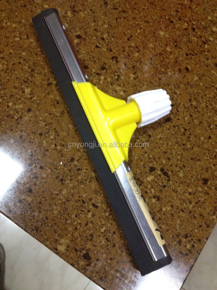 picture 3 the  Yellow color floor squeegee sample , your requested size is 35 CM 45 CM 55 CM.75 CM Italian screw,.jpg