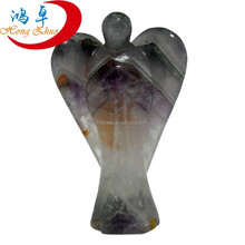 Stone Carving Patterns fluorite Crystal Angel Carvings