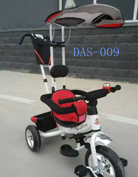 2015 New Children tricycle kids tricycle baby tricycle with Air pump wheel