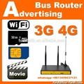 3 G wireless modem con sim / ranura para tarjeta sd de apoyo vedio juego local sitio web