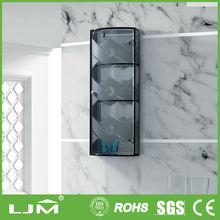 Mejor- venta comercial de vidrio esmerilado de metal de china de la cocina del gabinete
