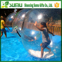 high quality inflatable big beach ball for walk on water