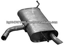 Rear muffler 953160 for VOLKSWAGEN Golf V; Golf V Plus