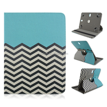 360 Degree Rotating Flip Raised Grain Pattern PU Leather Full Body Case with Stand for Apple iPad Air