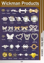 metal fittings for leather bags/ decorative hardware for handbags