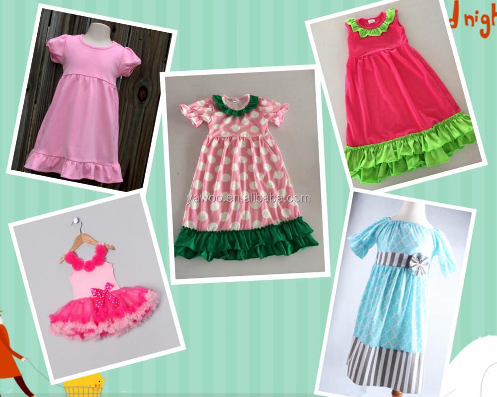 Baby Girls Summer Fashion Floral Lace Ruffle 3/4 Sleeve Stylish ...