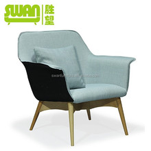 2087 popular french style armrest lounge leisure chair