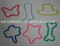 Multi-color High Elastic Silicone Silly Bands