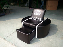 custom made promotional PU sofa with cooler /cooler chair/business gifts