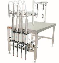 Semi Automatic Four Heads Ice Cream Filling Machine