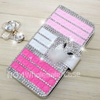 Beautiful bling crystal diamond leather flip case for Samsung Galaxy Core Plus,cover case for Samsung Galaxy Core Plus G350