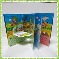 Ecofriendly custom child book / children board book printing/ children book design in China