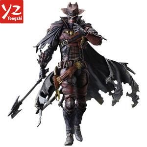 Plástico por encargo Western cowboy Batman Marvel figuras de acción de juguete