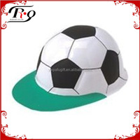 costume party hat plastic soccer ball hat