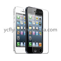 Premium explosion-proof professional mobile screen protector 0.26mm for iPhone 5s
