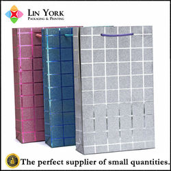China factory price wholesale 100 wine bottle paper gift bag