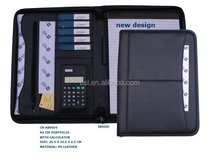 A3A4A5can be customized size leather writing padfolio/portfolio/folder/document case