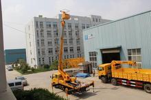 aerial platform truck with arm ISUZU mounted crane made in China
