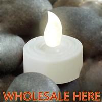 360pcs/lot cold whiteFlameless Tea Light e,Flameless Tea Light ,happy birthday candle