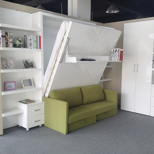 Lift Up Beds Storage : Gas lift bed modern storage up buy