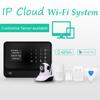 Best alarms wifi network GSM GPRS wireless home alarm & APP of Android+IOS GSM burglar trending alarm G90B smart zone function