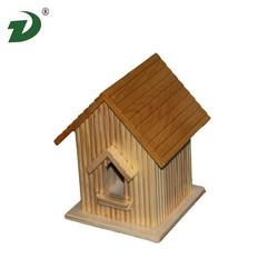hanging wood bird cage/bird house