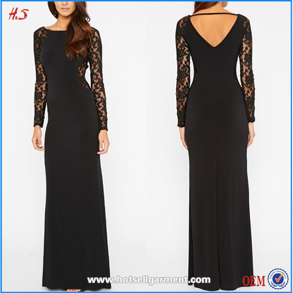 Creative Vestido Sexy Woman Clothing Black Dress With Sequin Unique Design