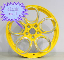 high stength 4x4 suv Chrome alloy wheels with good technic