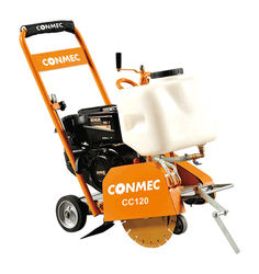 9CM Cutting Depth Concrete Road Cutter CC120 With Robin EX17