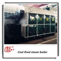DZL Industrial coal fired steam boiler for textile industry