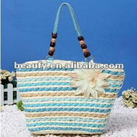 wholesale tide lady's crafted straw bags office women tote bag