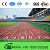 Environment Friendly IAAF Approved Prefabricated Rubber Running Track For 400 Meter Standard Track Field
