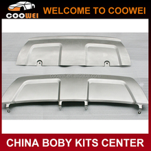 High quality stainless steel material front and rear bumper guard for Land-Rover Evoque