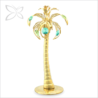 Wholesale Gold Plated Metal Palm Tree Wedding Decorations